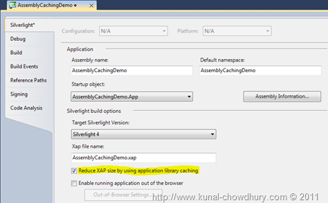 Steps to Discuss Application Library Caching in Silverlight