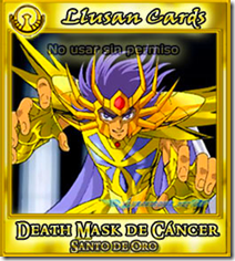 DeathMask de Cancer | Llusantronic