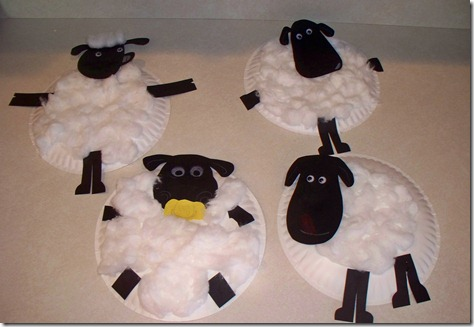 Sheep Crafts With Paper Plates
