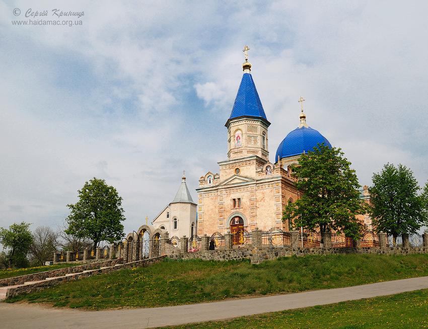 церква Івана Богослова в Рогах