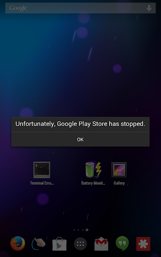 Play Store Crash Demo