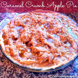 Caramel Crumb Apple Pie Recipe
