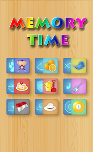 Memory Time A Memory Game