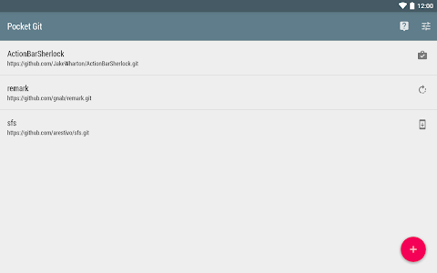 Pocket Git v1.3.0
