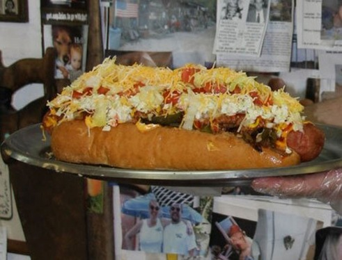 The Home Wrecker Hot Dog