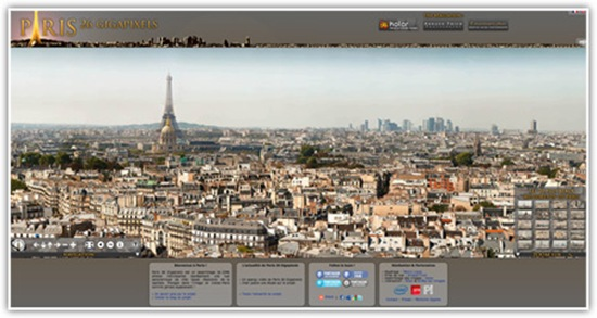 Paris 26 gigapixels