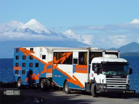 Exploranter - hotel podróżujący po Patagonii
