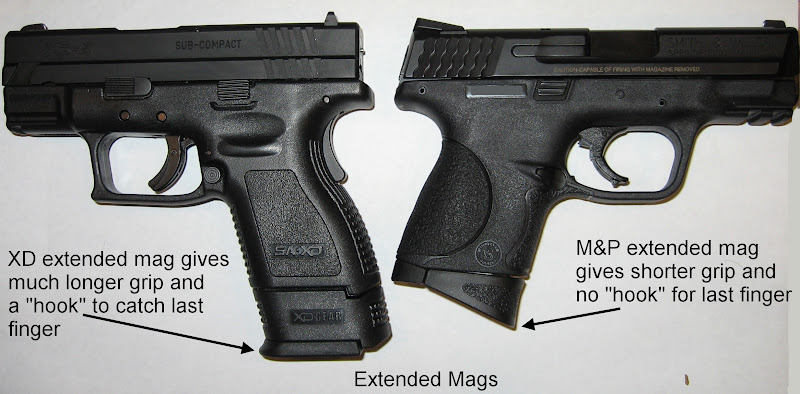 Comparing S&W M&P 9c And Springfield XD Subcompact