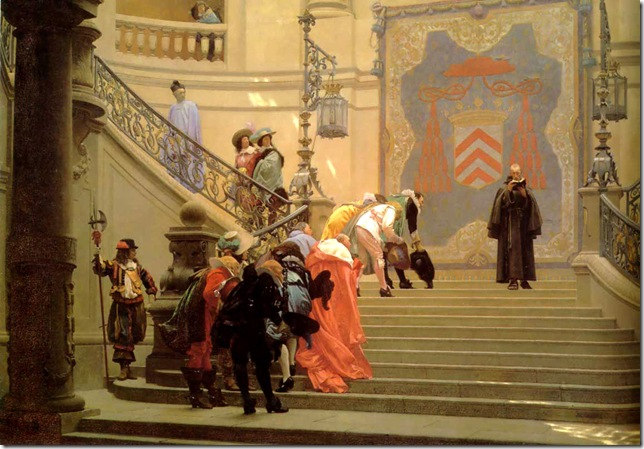 Jean-Leon Gerome - The_Grey_Cardinal