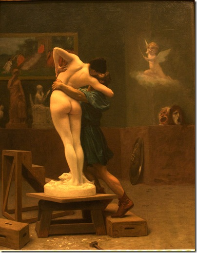 Jean-Leon_Gerome - Pygmalion_and_Galatea