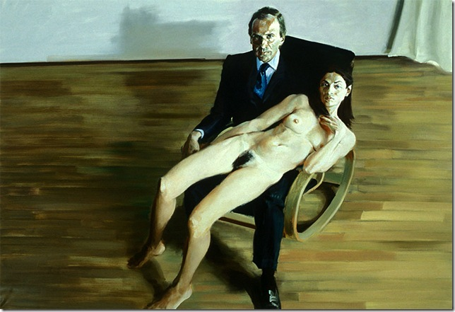 eric fischl -Simon And Anh, 2003.