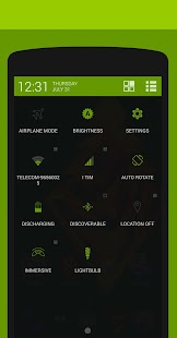 Objects #Green PA/CM11 Theme- screenshot thumbnail