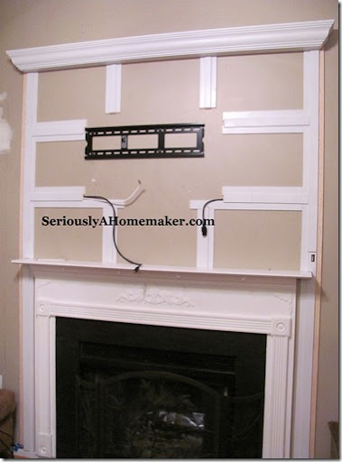 How to Hide TV Cords in Trim Work - Sawdust Girl®