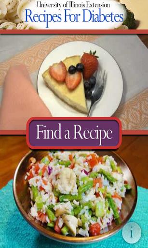 Recipes for Diabetes