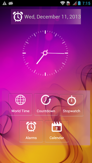 World Clock & Alarm 1.5   app screenshot