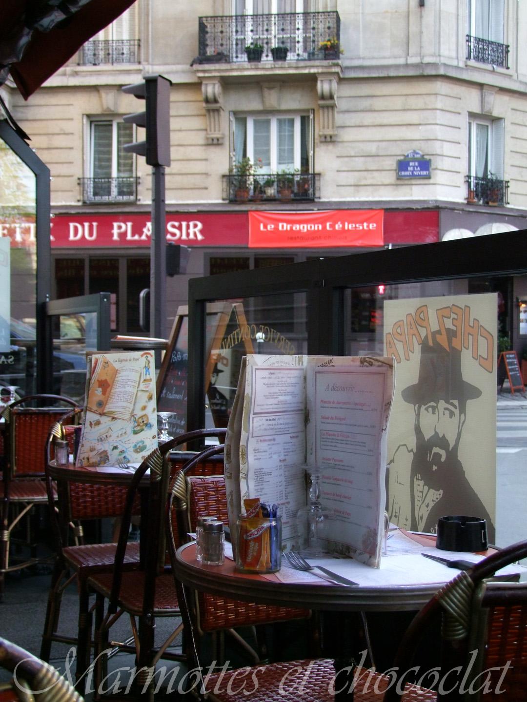 Restaurant Chez Papa Rue Saint Benoit