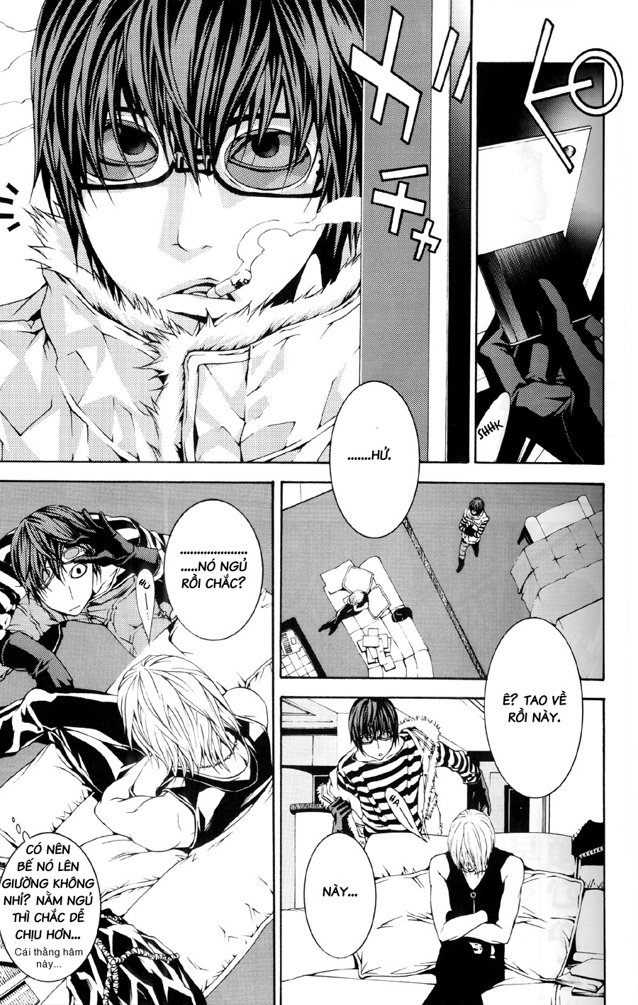 Death Note Oneshot Chap 001