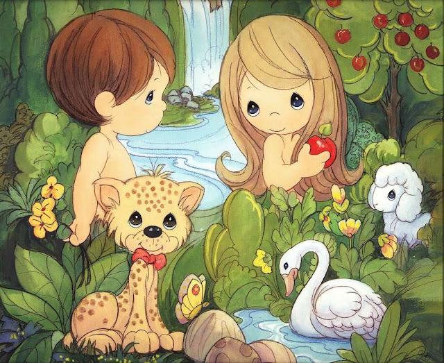 Dibujos De Adan Y Eva