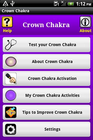 Crown Chakra sahasrara chakra