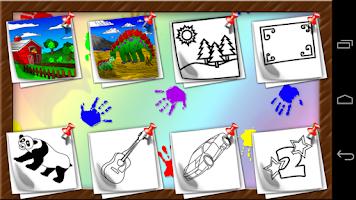 Screenshot of Cloud Doodle - Color & Draw
