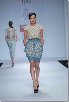 WIFW SS 2011 collection by Vineet Bahl