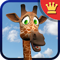 Talking George Giraffe AdFree icon