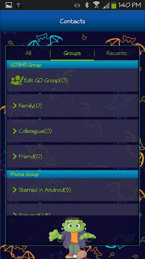 玩個人化App|GO SMS - Frakenstein免費|APP試玩