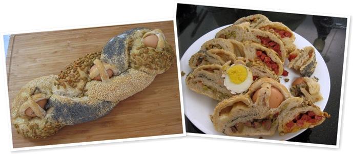 View Easter braid bread