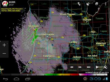 PYKL3 Radar (USA NEXRAD/TDWR) Screenshot 14