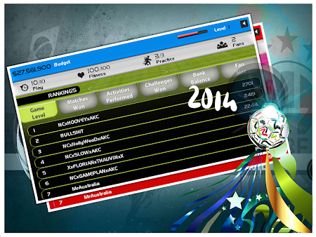 World Cup 2014 Soccer Manager 1.0 screenshot 52317