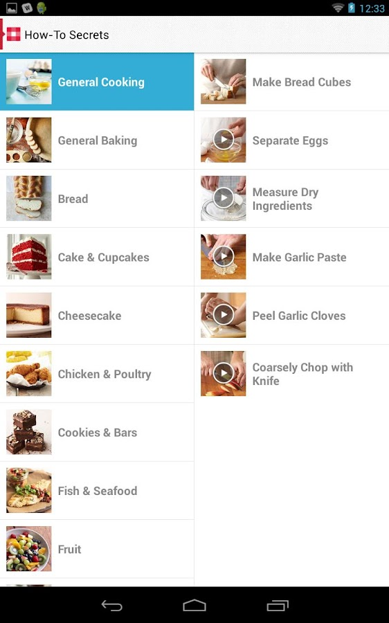 Must-Have Recipes from BHG - screenshot