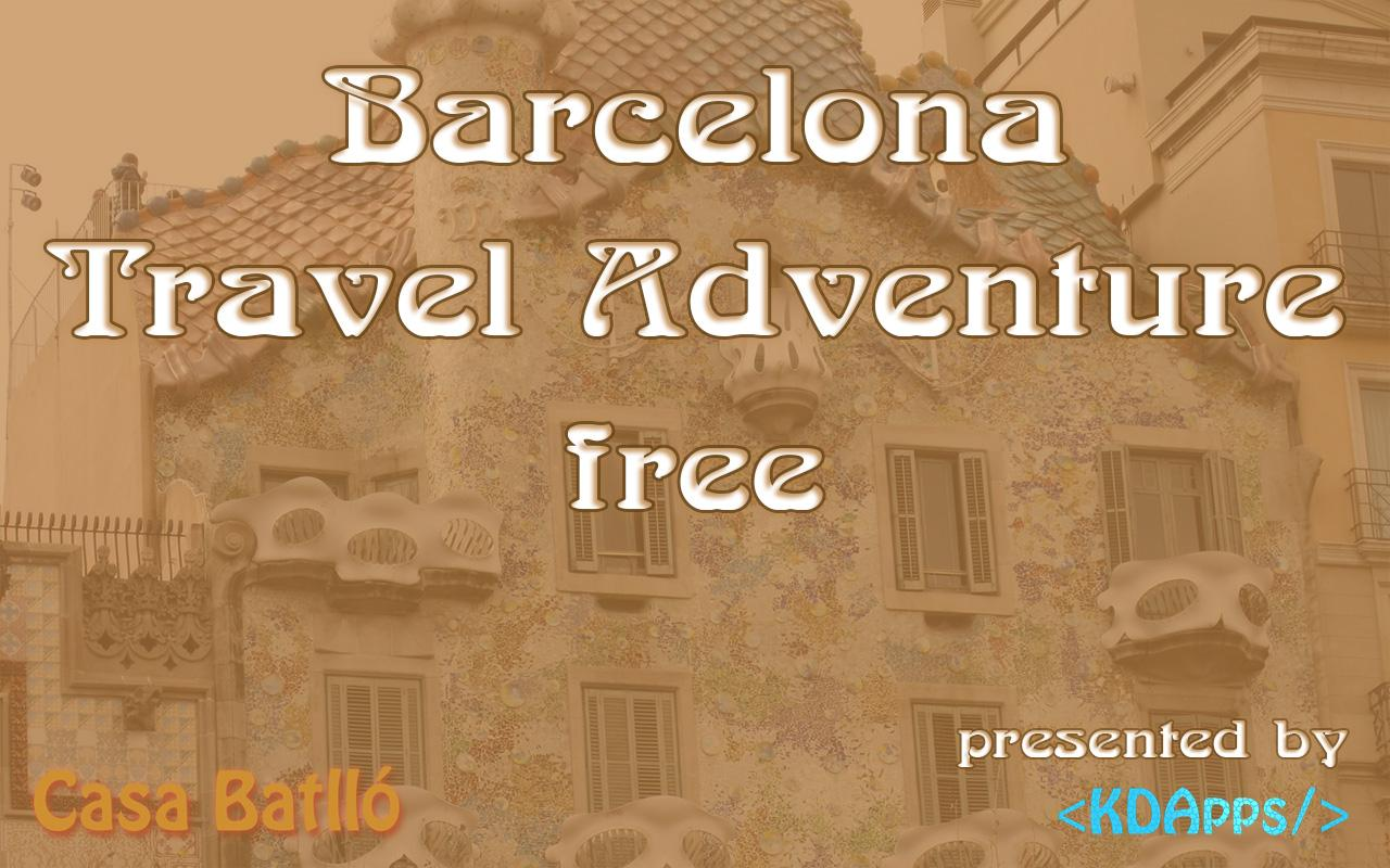 BCN Travel Adventure Free- screenshot