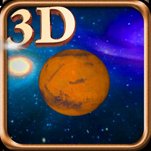 3D Mars Live Wallpaper LOGO-APP點子