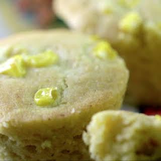 Vegan Cornbread Muffins.