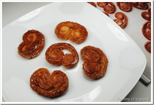 Palmiers / Elephant Ears / Butterfly Cookies