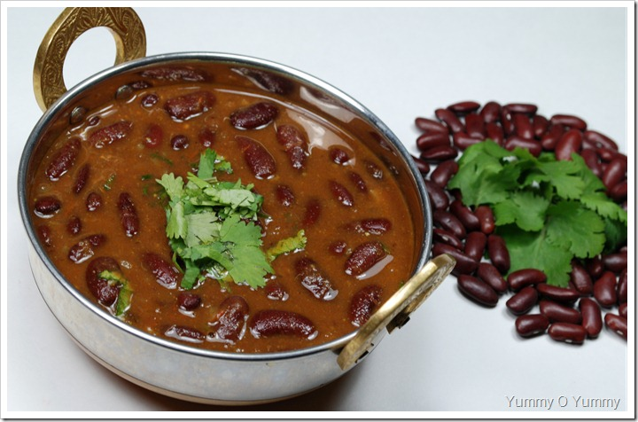 Rajma / Red Kidney Bean Curry