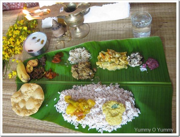 Kerala Sadya / Vishu Sadya