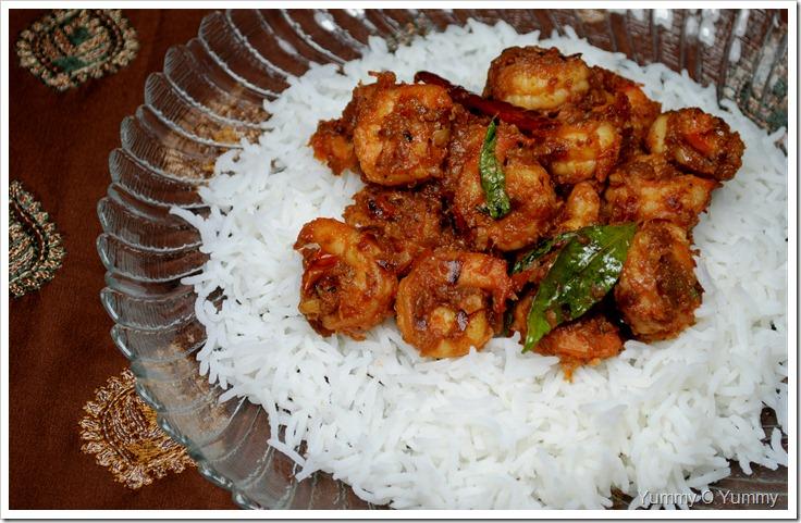 Goan Shrimp Balchao