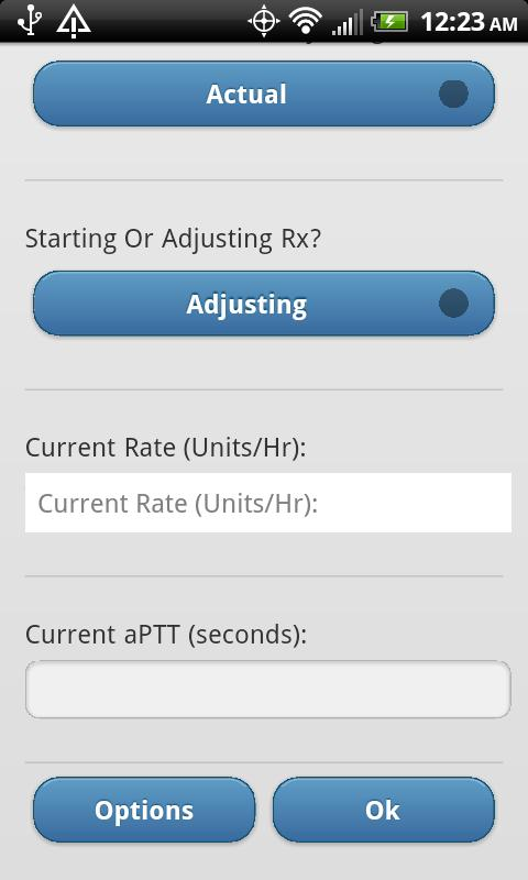 Heparin Dosing- screenshot