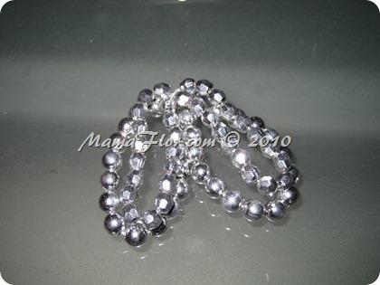 Angelito de Perlas para el Arbol Navideño 0237