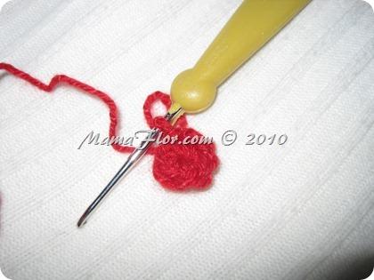 Gorro Tejido Crochet Santa Claus Papa Noel - IMG_0245