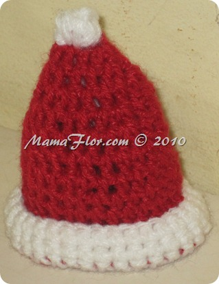 Gorro Tejido Crochet Santa Claus Papa Noel - IMG_0256