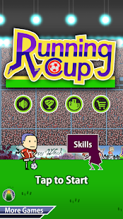 Running Cup - Soccer Jump - náhled