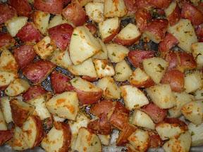 Mr Potato Spread Food Truck Menu
