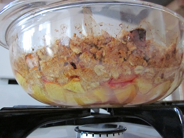 Peach Crisp side view