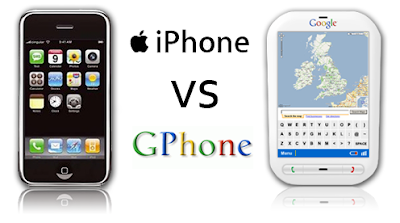 iPhone Apple lawan Gphone Google