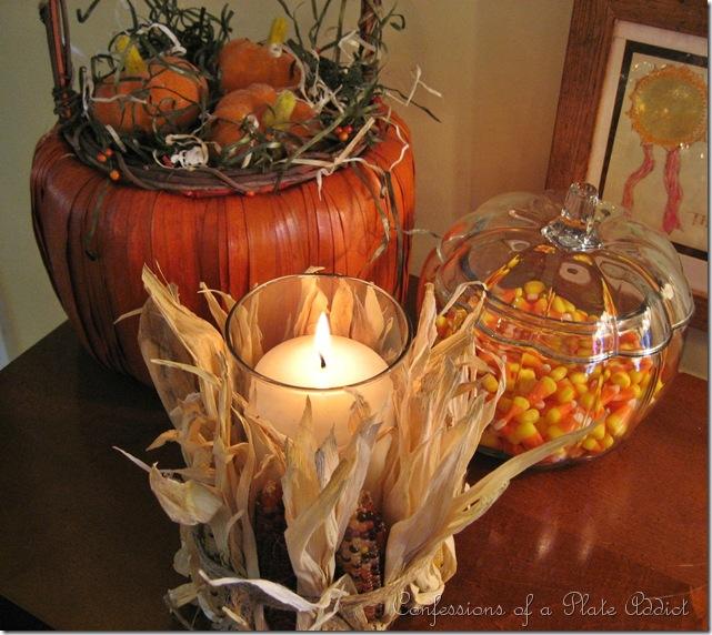 cornhusk Candle
