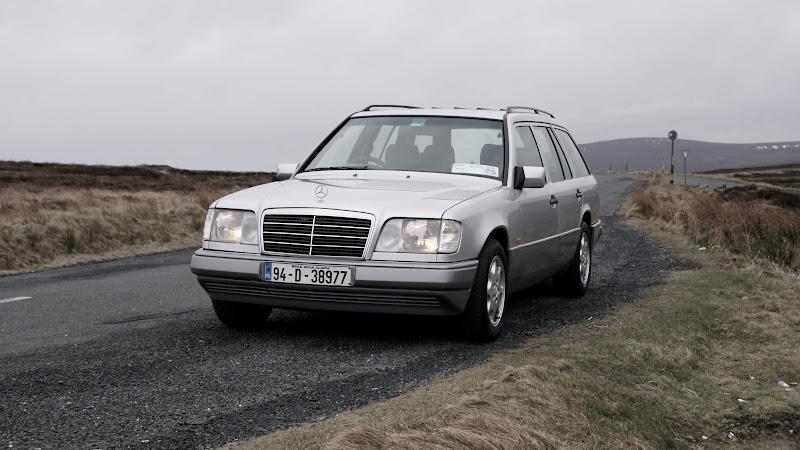 W124 estate - returned after crash damage  | MBClub UK - Bringing