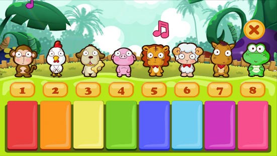 Piano Kids Animals- screenshot thumbnail