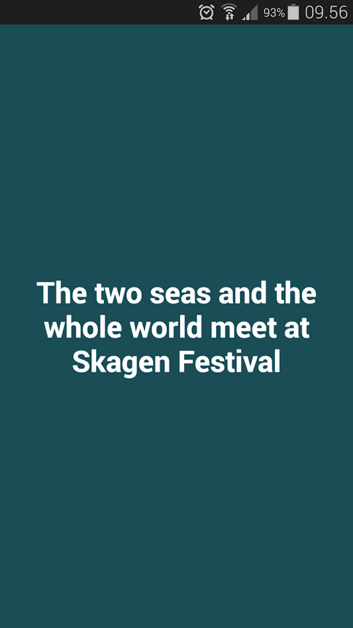 Skagen Festival- screenshot